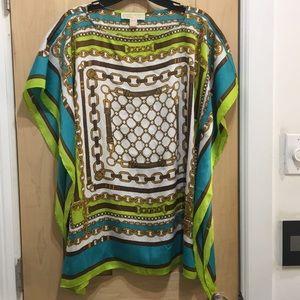 Michael Kors batwing chain blouse